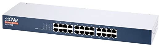 C Net 42112 Switch réseau rackable 24 ports 10/100 Mbps Blanc