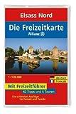 echange, troc Atul Kochhar - Freizeitkarte Allianz Elsass Nord / Südwestpfalz 1 : 120 000