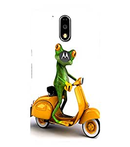 PRINTSHOPPII GAME Back Case Cover for Motorola Moto G4 Plus