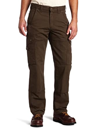 Carhartt B342 Men's Cotton Ripstop Pant Dark Coffee 28W x 30L