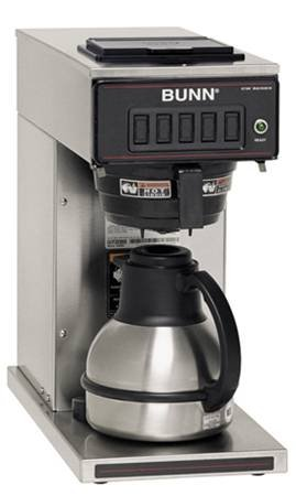 Bunn 12 Cup Coffee Maker