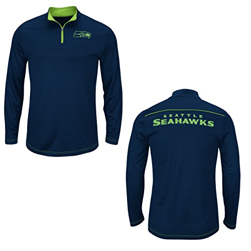 NFL-Seattle-Seahawks-Navy-Quarter-Zip-Ready-Willing-Thermabase-Synthetic-Jacket