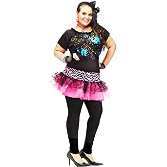80's Pop Party Plus Size Costume