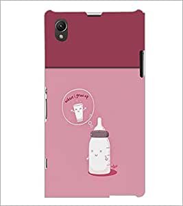 PrintDhaba Funny Image D-3716 Back Case Cover for SONY XPERIA Z1 (Multi-Coloured)