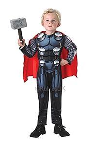 Thor Deluxe - Avengers Assemble - Childrens Fancy Dress Costume