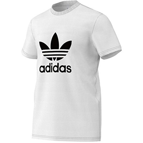 adidas Originals Trefoil T-Shirt weiss-schwarz, XXL
