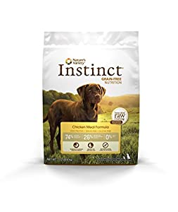 Instinct Grain-Free Chicken Meal Dry Dog Food by Nature's Variety 13.2 lb Bag