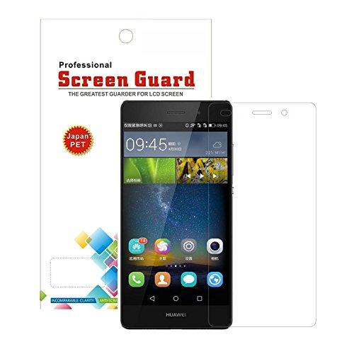 2枚セットHUAWEI P8 lite 液晶保護フィルム × 2Pack ( Y!mobile LUMIERE 503HW / ファーウェイ P8 ライト 楽天モバイル SIMフリー 対応 ) 自己吸着式 SCREEN GUARD コーティング スクリーンガード画面保護