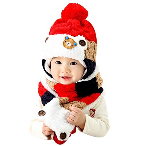 gillberry-bebe-linda-calentar-dibujos-animados-sombreros-bufanda-otono-invierno-rojo