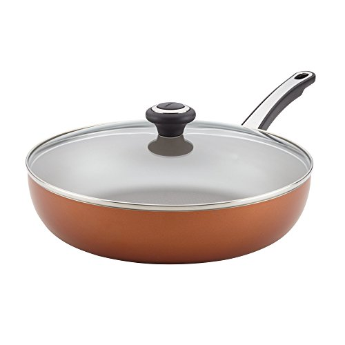 "Farberware 21956 High Performance Nonstick Skillet, 12"", Copper"