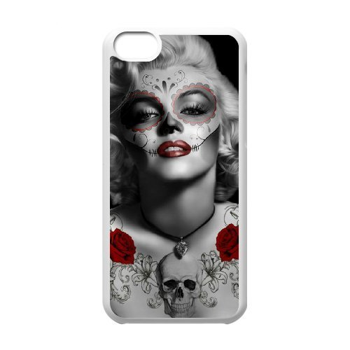 Cool Painting Zombie Marilyn Monroe Classic Personalized Phone Case for Iphone 5C,custom cover case case692557