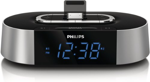 Philips Aj7030D/37 30-Pin Ipod/Iphone Alarm Clock Speaker Dock
