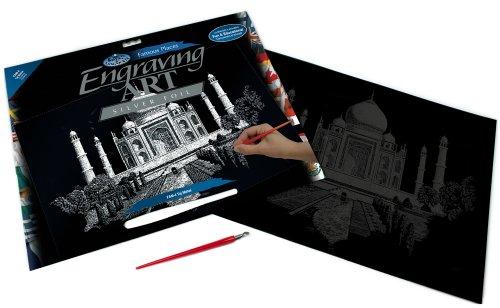 royal-langnickel-silver-engraving-art-a3-size-taj-mahal-designed-painting-set