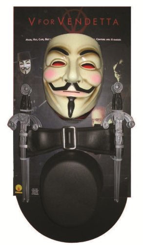 V for Vendetta Costume Kit