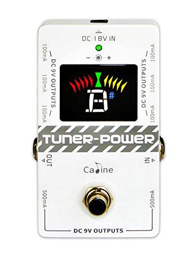 Caline Cp-09 Tuner Power 9V Power Supply + Floor Tuner Combo New