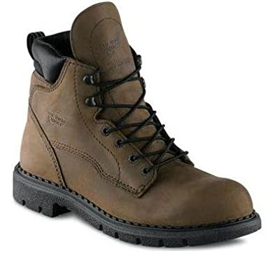Red Wing Men's 6-inch Boot Brown Style 406 Size 8 E2