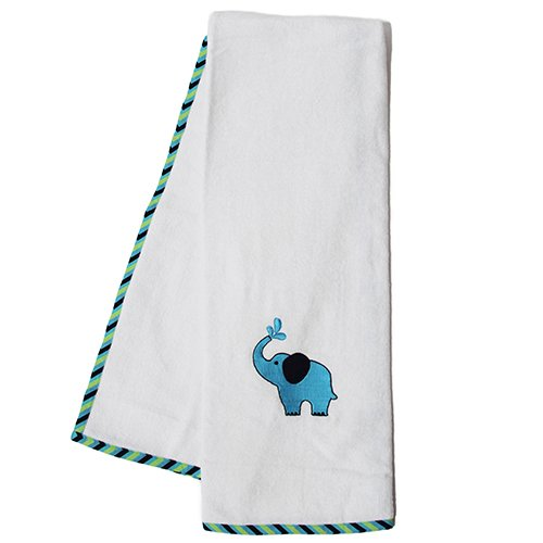 Pam Grace Creations Towel Set, Zigzag Elephant - 1