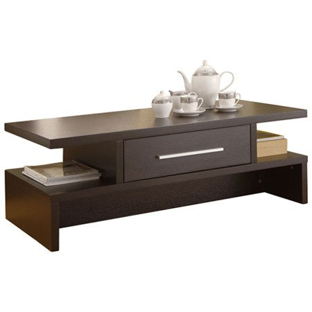Lark Coffee Table with Shelves Storage - Tables Sofa Console End Set Living Room Office Furniture Modern - Sale!