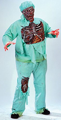 Zombie Doctor Adult Costume Plus Size