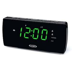 Jensen JCR230 High Quality Audio Alarm Clock
