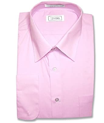 Men 39 S Lavender Light Purple Dress Shirt W Convertible