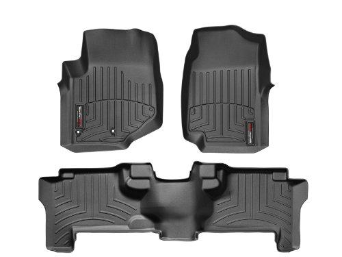 WeatherTech Custom Fit FloorLiner - Chevrolet TrailBlazer - 2002-2009 - 1st & 2nd Rows] (Weathertech 440071 compare prices)