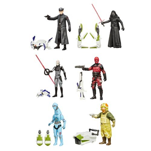 Star Wars VII Jungle and Space Action Figures Wave 2 Case