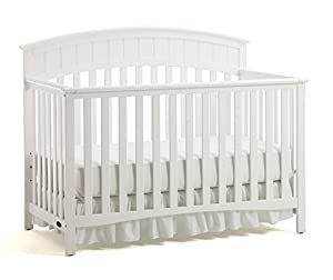 Graco Charleston Convertible Crib, White