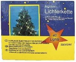 Lichterkette Außen 40 Lampen