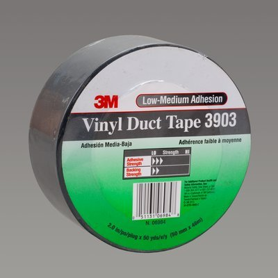 3M-3903-Vinyl-Duct-Tape-3903-Gray-3-in-x-50-yd-65-mil-You-are-purchasing-the-Min-order-quantity-which-is-18-Rolls