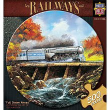 Full Steam Ahead Puzzle: 500 Pcs