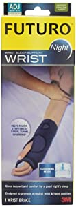 Futuro Night Wrist Sleep Support, Adjustable by Futuro