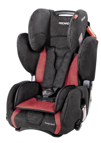 Recaro Young Sport - Cherry/Black