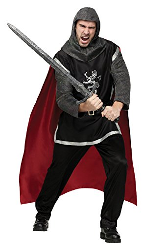 Funworld Mens Medieval Knight Deluxe Theme Party Fancy Dress Costume