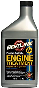 BestLine 853796001047 Premium Synthetic Engine Treatment for Gasoline Engines - 16 oz. from BestLine