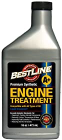 BestLine 853796001047 Premium Synthetic Engine Treatment for Gasoline Engines - 16 oz.