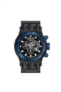 Invicta 80394 - Reloj de pulsera hombre, plástico, color negro