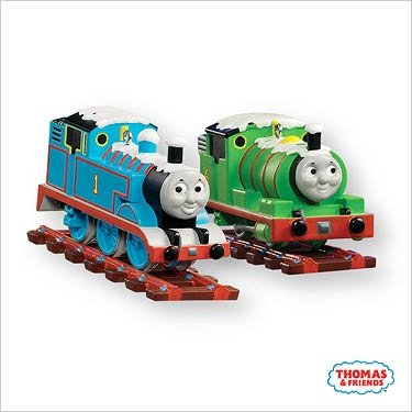 Thomas and Percy 2007 Hallmark Keepsake Ornament