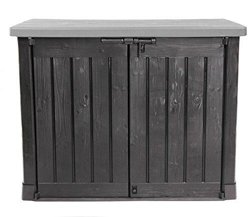 test bbt hochwertige m lltonnenbox f r 4 tonnen je 240. Black Bedroom Furniture Sets. Home Design Ideas