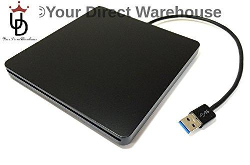 Panasonic UJ-265 (Black) Slim Slot In External USB 3.0 3D XL DL TL QL Blu-Ray / DVD / CD Drive / Burner / Writer... Black Friday & Cyber Monday 2014