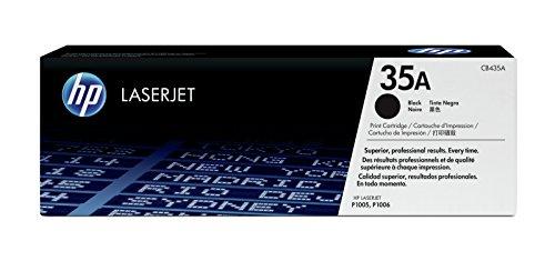 HP 35A (CB435A) Schwarz Original Toner für HP Laserjet P1005, P1006
