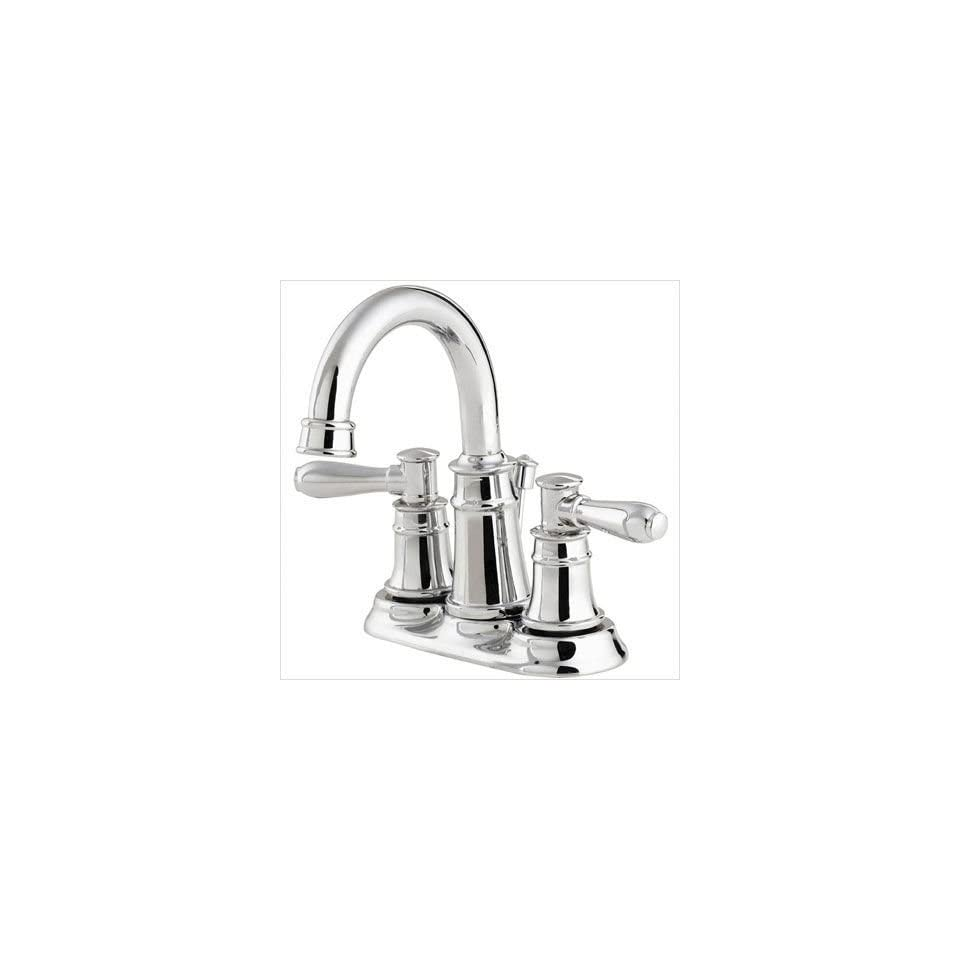 Price Pfister 043 CL0C Harbor 4 Centerset Bathroom Faucet in Polished Chrome
