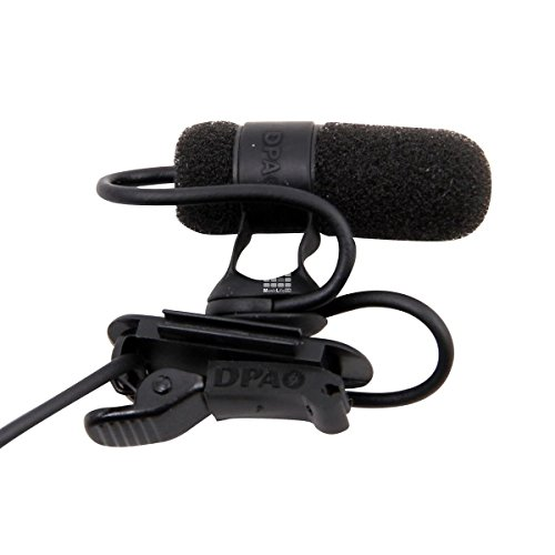 Dpa 4080-Bm | High Sensitivity Miniature Cardioid Lavalier Microphone Black