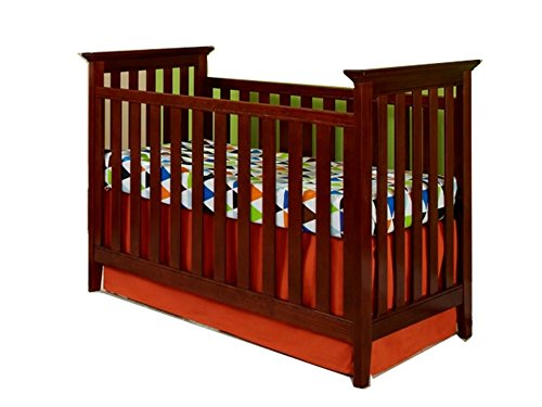 Imagio Baby Summit Park 3 in 1 Cottage Mission Crib, Virginia Cherry - 1