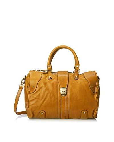 Chocolat Blu Women's Satchel Handbag, Mustard As You See