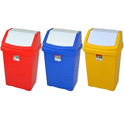 Prix des poubelle de cuisine rouge 3 - Poubelle recyclage cuisine ...