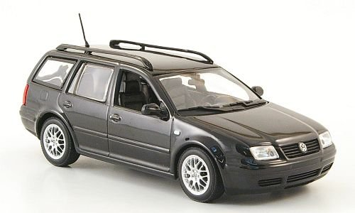 VW Bora Variant, schwarz , 1999,