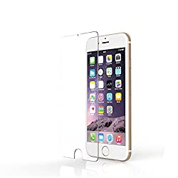 MoArmouz® Super Tempered Glass Screen Protector For iPhone 6 Plus/6S Plus Ultimate Shield Protector - Transparent Anti Scratch & Schockproof - Bubble-Free Screen Shield / Screen Guard / Guaranteed Quality / HD /9H Hardness 3D Touch Compatible / Mobile Accessories / Screen Protectors