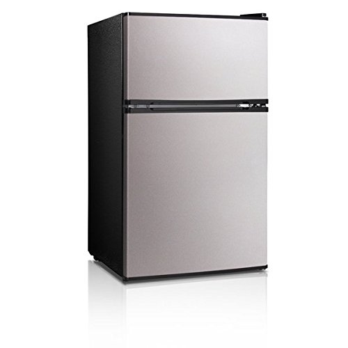 Midea 3.1 Cu. Ft. Double Door Compact Refrigerator/Freezer (Pic Of Ps3 compare prices)