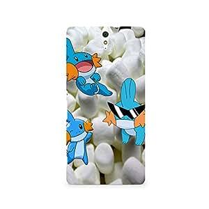 TAZindia Designer Printed Hard Back Mobile Case Cover For Sony Xperia C5